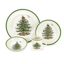 Spode Christmas Tree 4pc Place Setting