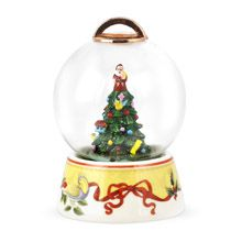 2012 Spode Christmas Tree Annual Snowglobe Ornament