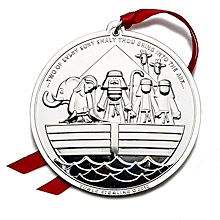 2012 Towle Noah's Ark Sterling Silver Christmas Ornament, Final Edition