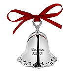 2012 Towle Annual Silver Bell Christmas Ornament