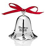 2012 Towle Annual Musical Bell Silver Christmas Ornament