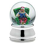 Towle Musical Santa Water Globe Silverplate