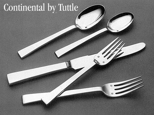 Continental By Tuttle Sterling Silver Flatware