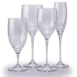 Blanc sur blanc crystal stemware by vera wang - Vera wang stemware ...