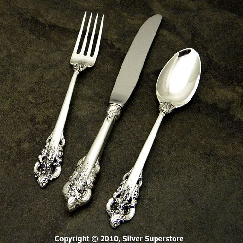Wallace Grande Baroque Sterling Children S Flatware