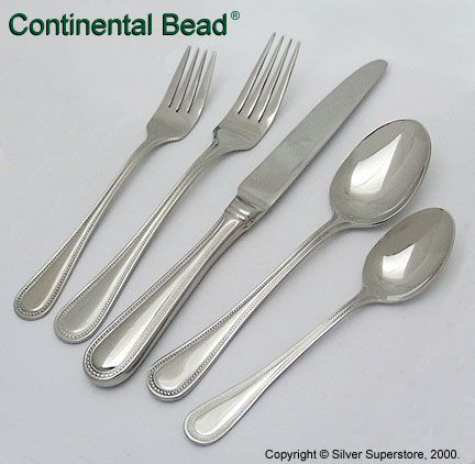 Continental Bead by Wallace Silversmiths - Flatware for Less