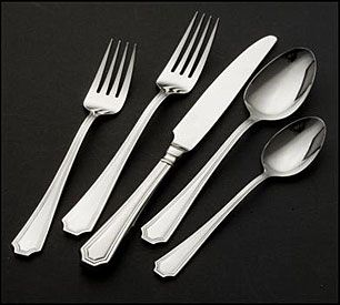 Arlington By Wallace Silversmiths Stainless Steel Flatware