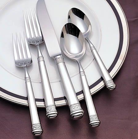 Colleen By Waterford Stainless Flatware For Less