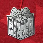 Woodbury Pewter Gift Christmas Ornament