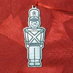 Woodbury Pewter Toy Soldier Christmas Ornament