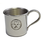 Clover Pewter Baby Cup