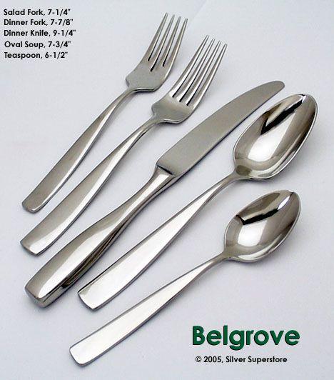 Yamazaki belgrove stainless flatware for less - Yamazaki stainless steel flatware ...