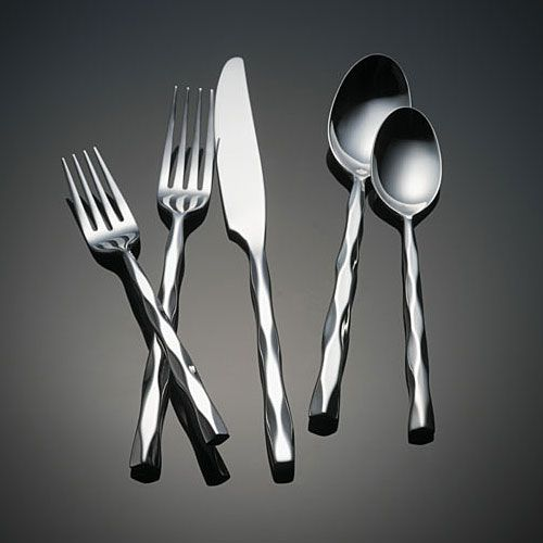 Cable by yamazaki stainless flatware for less - Yamazaki stainless steel flatware ...