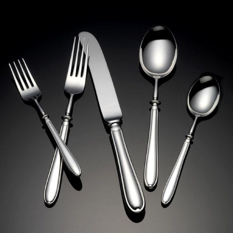 Grace by yamazaki stainless flatware for less - Gone fishin flatware ...