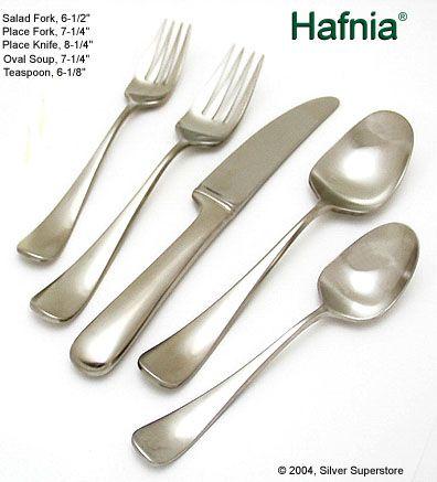 Yamazaki hafnia stainless flatware for less - Yamazaki stainless steel flatware ...