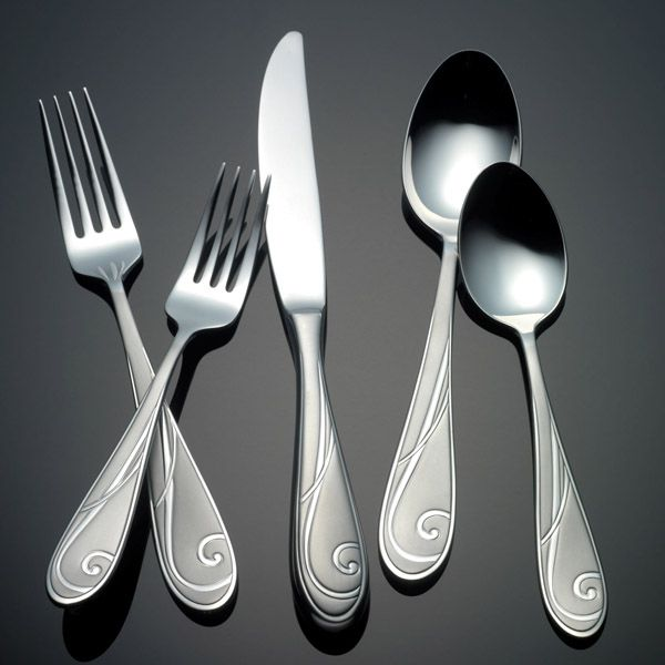 Platinum Wave By Yamazaki Stainless Flatware For Less At