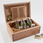 American Chest Company Cannabis Humidor Large