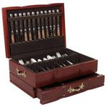 Grandeur Flatware Silverware Chest