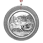 Sleigh Ride Ball Chirstmas Ornament by Barrett Cornwall