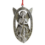Trumpeting Angel Chirstmas Ornament by Barrett Cornwall