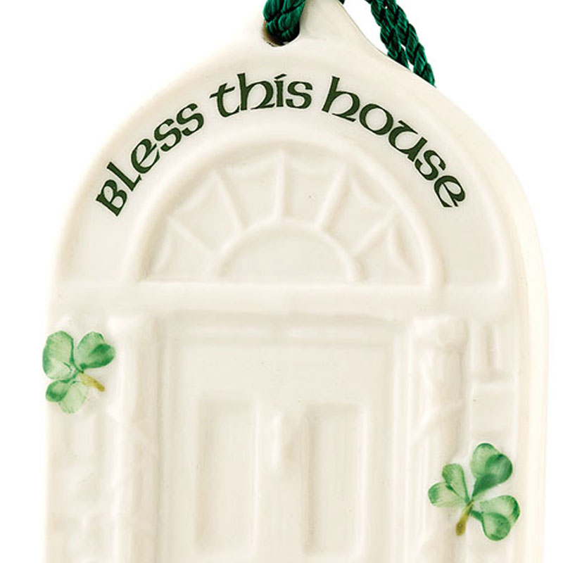 House Blessing Christmas Ornament 2016 Belleek Ornaments