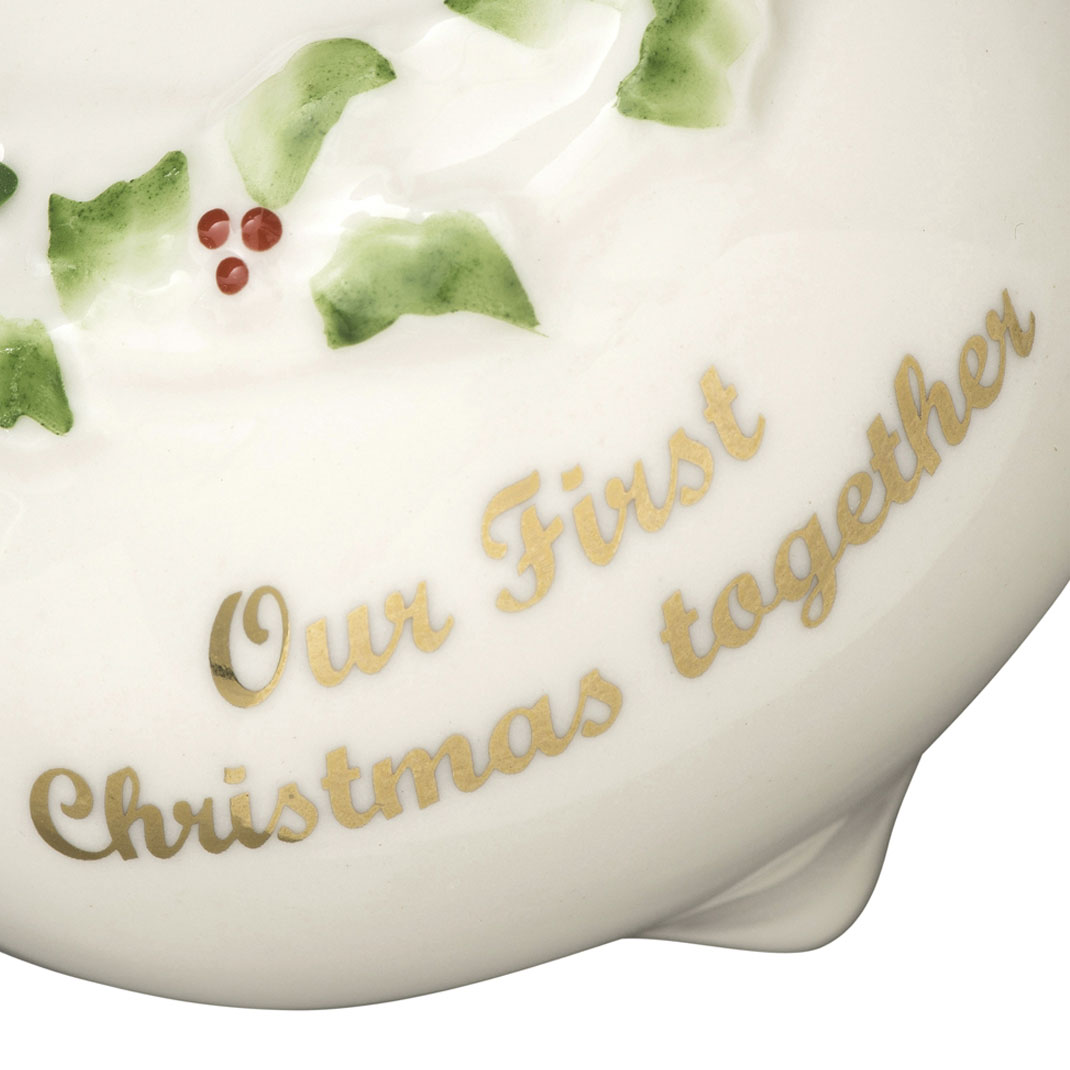 Our First Christmas Ornament 2017 | Belleek Ornaments | Porcelain ...