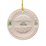 Celtic Blessing Christmas Ornament