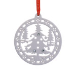 Christmas Forrest Christmas Ornament