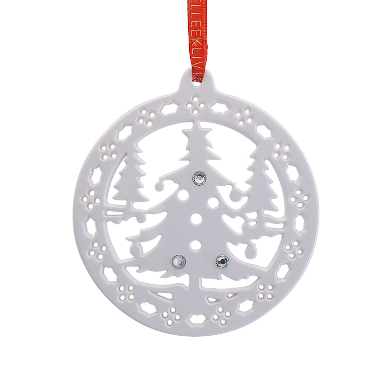 2017 Christmas Forest Ornament Christmas Ornament | Belleek Christmas Tree Decoration | Christmas trees