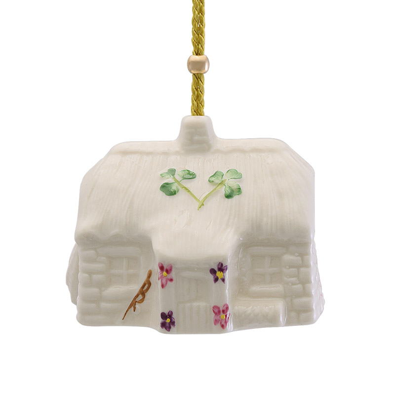 Killybeg's Fisthermans Cottage Christmas Bell Ornament