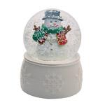 2017 Snowman Snow Globe