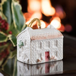 Belleek Annual, Kerry Farmhouse Bell 2018 Ornament | Belleek Christmas Ornament | Killybeg's Fisthermans Cottage, Annual Ornament