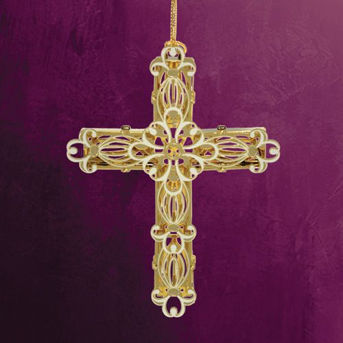2014 ChemArt Decorative Cross Ornament