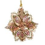 2014 ChemArt Annual Snowflake Brass Christmas Ornament