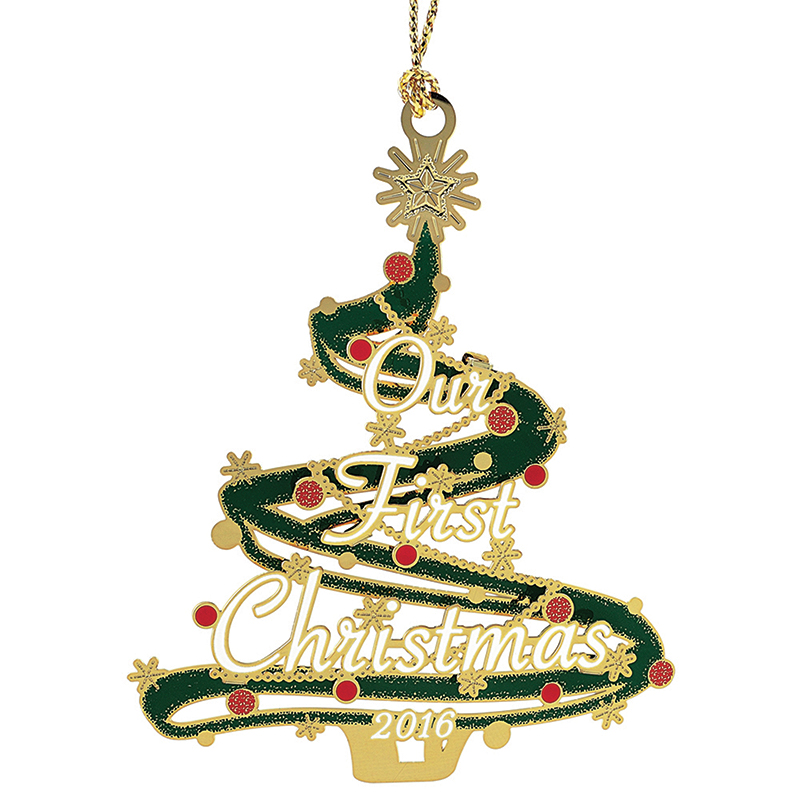 Our first christmas ornament 2016 chemart ornaments for Christmas decorations 2016