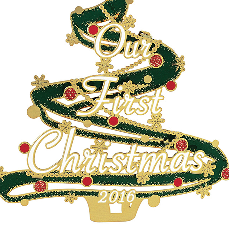Our First Christmas Ornament 2016 | Chemart Ornaments ...