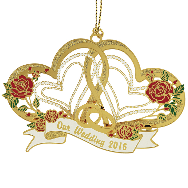2016 Our Wedding Christmas Ornament | Chemart Christmas Tree Decoration | Our Wedding Design