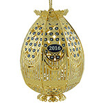 Chemart Trellis Egg 2016 Ornament | Chemart Christmas Ornament | Trellis Egg Ornament