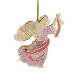 ChemArt Brilliant Angel Brass Christmas Ornament
