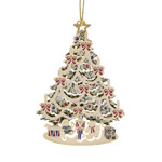 ChemArt Classic Christmas Tree Brass Christmas Ornament
