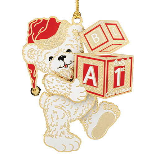 2018 Baby's 1st Christmas Christmas Ornament | Chemart Christmas Tree Decoration | Snowflake Design