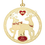 Chemart Our 1st Christmas 2018 Ornament | Chemart Christmas Ornament | Snowflake Ornament