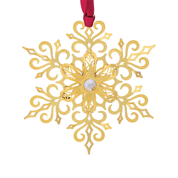 2019 Brilliant Snowflake Christmas Ornament | Chemart Christmas Tree Decoration | Snowflake Design
