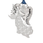 2019 ChemArt Glorious Winter Angel Brass Christmas Ornament