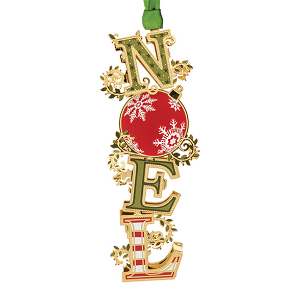 2019 Noel Christmas Ornament | Chemart Christmas Tree Decoration | Snowflake Design