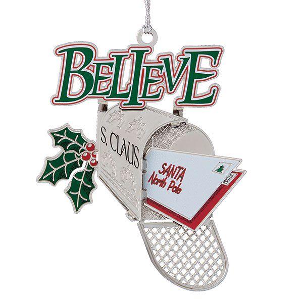 2015 chemart believe christmas ornament