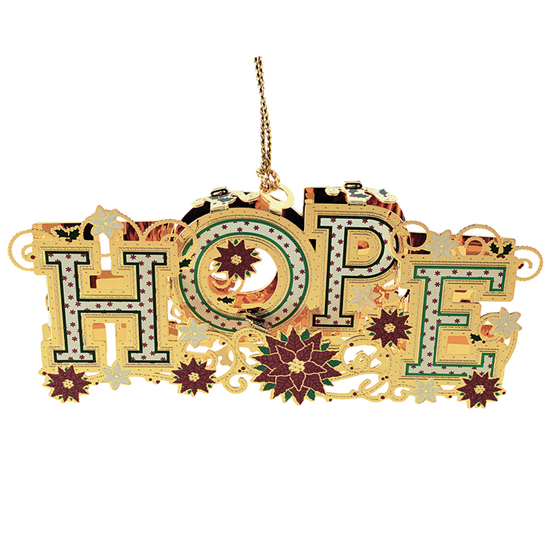 Christmas Hope Ornament Christmas Ornament | Chemart Christmas Tree Decoration | Christmas Hope Design