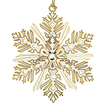 Chemart Luminous Snowflake Ornament  Ornament | Chemart Christmas Ornament | Christmas Hope Ornament