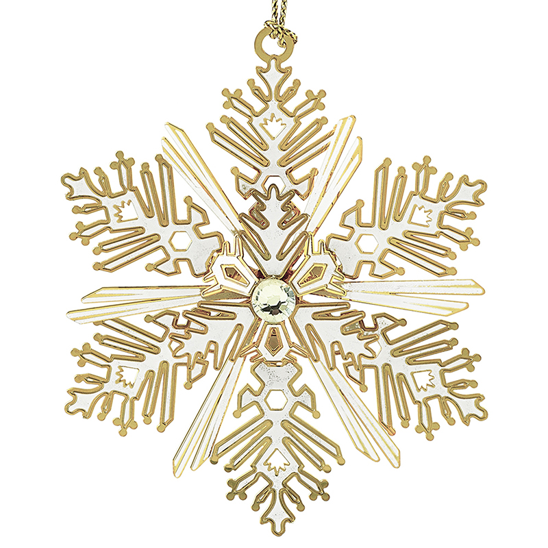 Luminous Snowflake Ornament Christmas Ornament | Chemart Christmas Tree Decoration | Christmas Hope Design