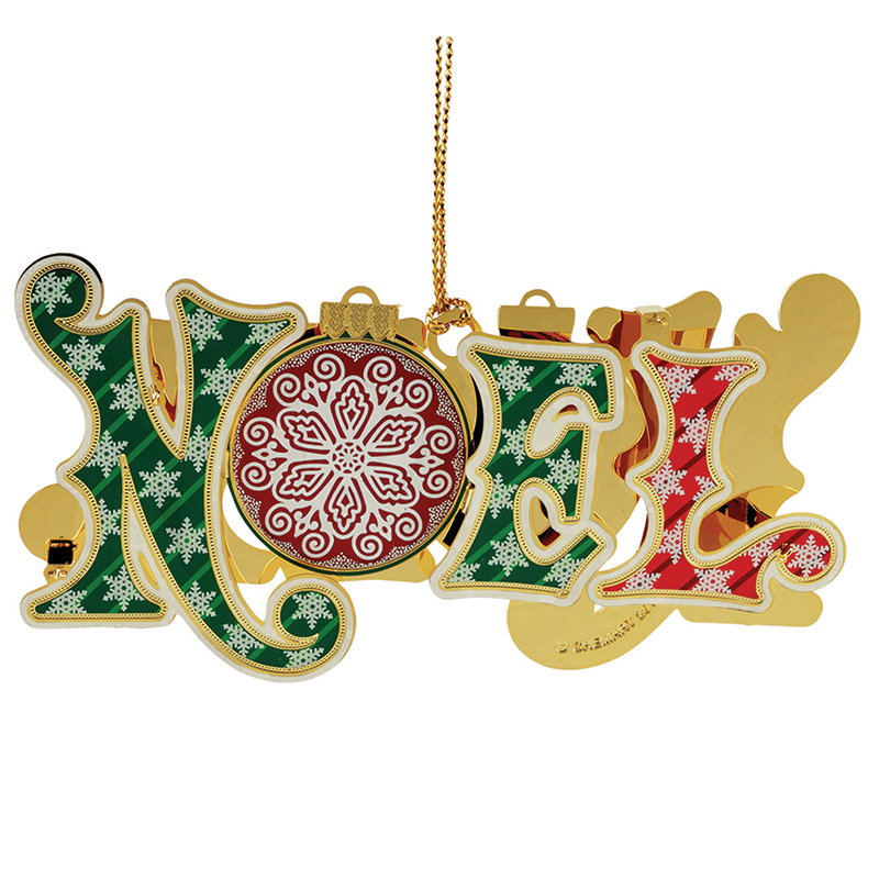Noel Ornament Christmas Ornament | Chemart Christmas Tree Decoration | Christmas Noel Design